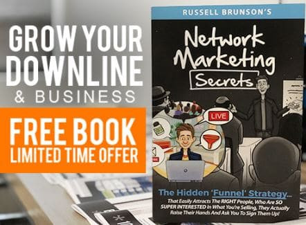 russel brunson network marketing secrets review banner