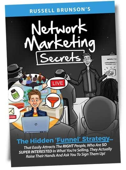 network marketing secrets book cover