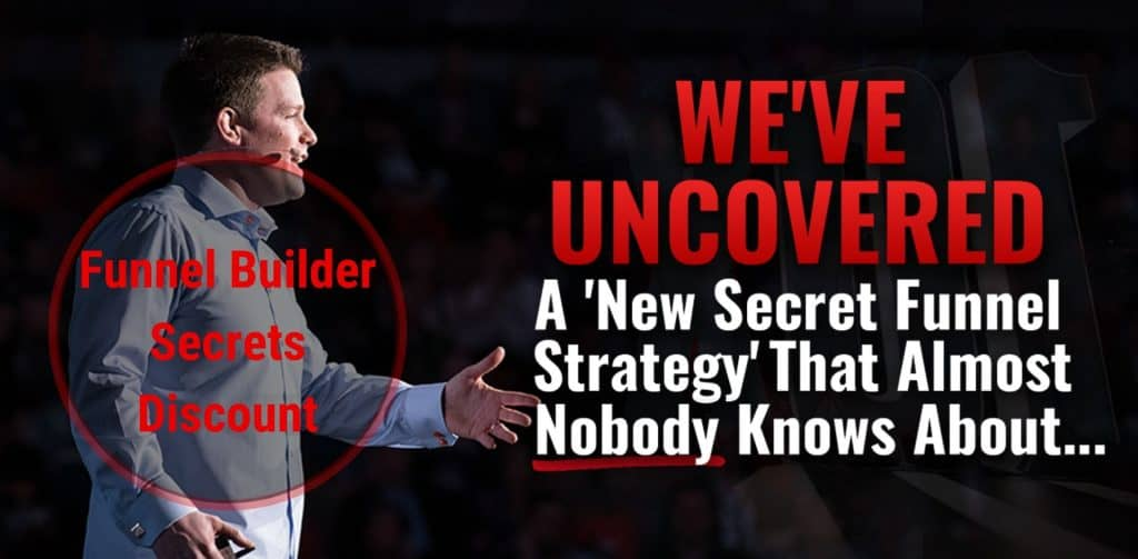 funnel builder secrets banner