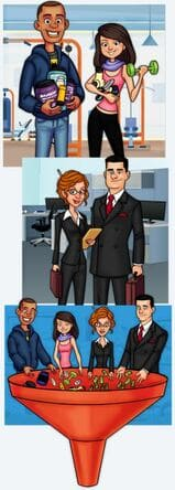 network marketing funnel, mlm funnel,