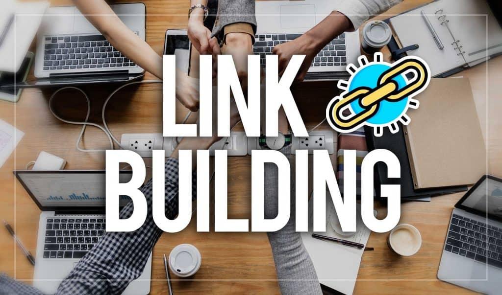 link building lettering