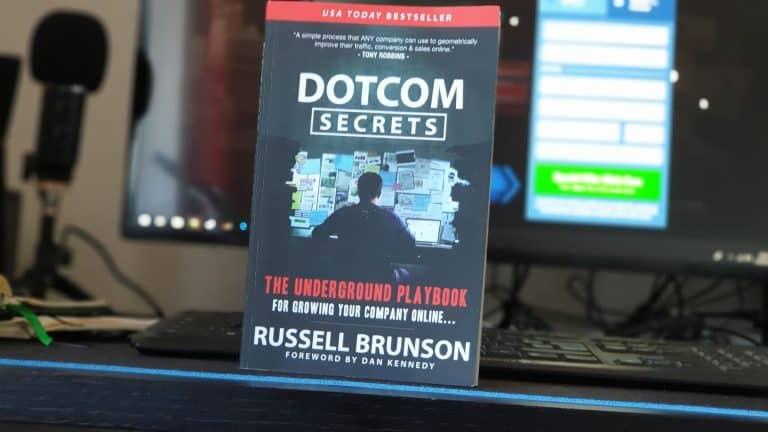 dotcom secrets review, dotcom secrets book review, clickfunnels free book
