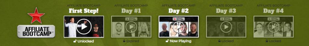 affialite bootcamp 4 day overview