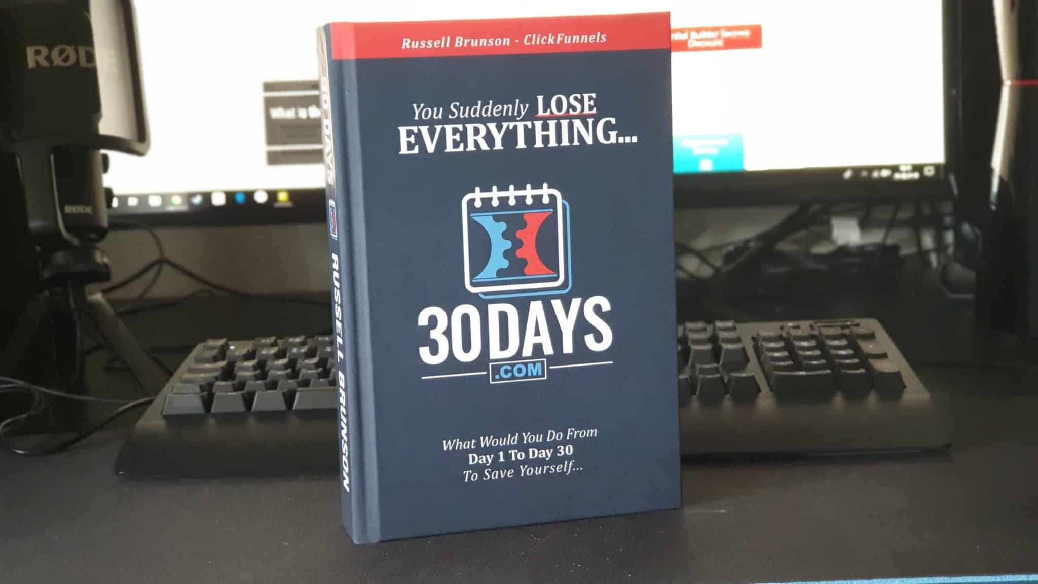 Clickfunnels 30 Day Challenge Book