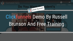 Clickfunnels Demo By Russell Brunson And Free Training