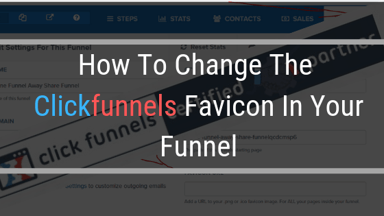 How To Change The Clickfunnels Favicon In Your Funnel