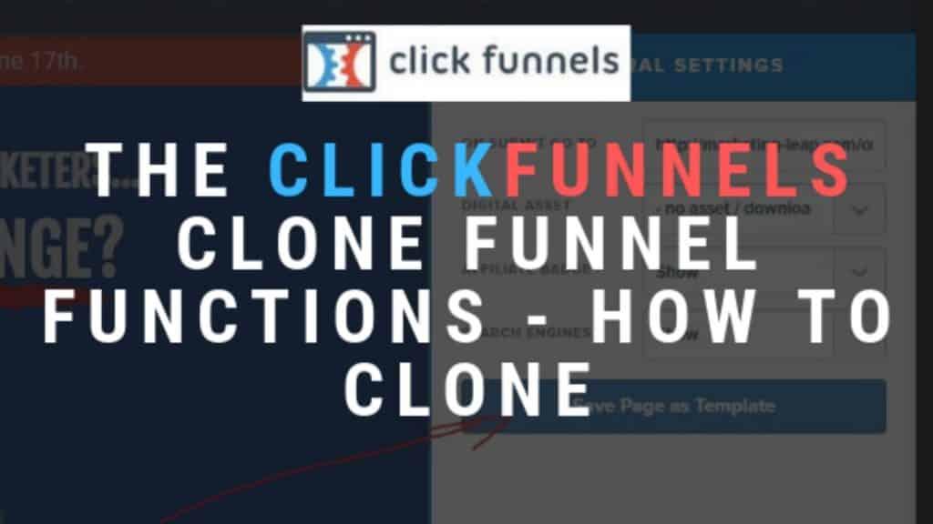 clickfunnels clone funnel