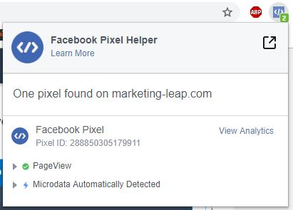 clickfunnels facebook pixel helper