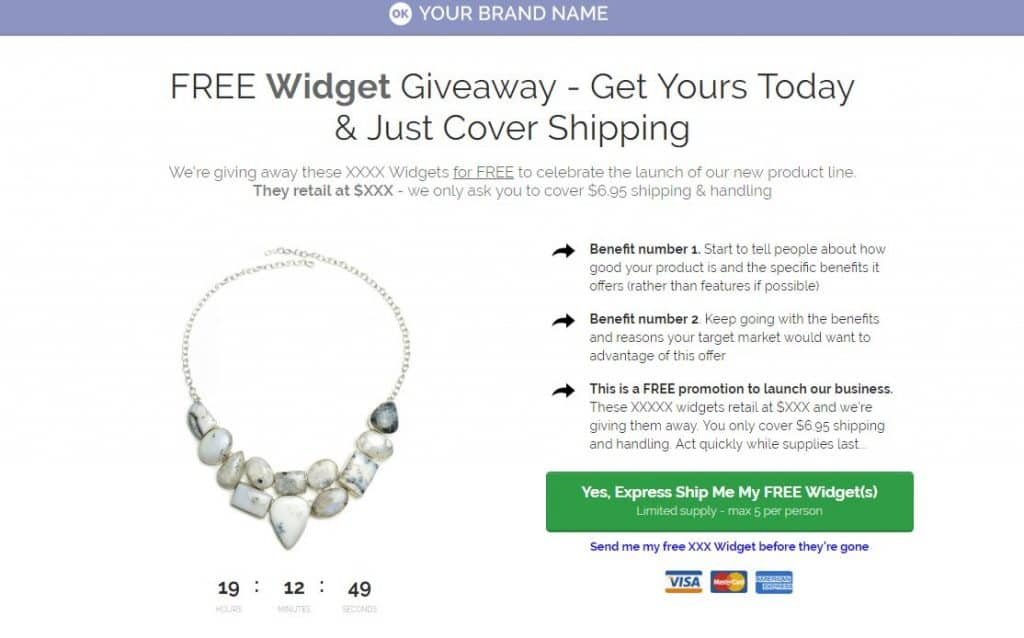 How to use Clickfunnels For Jewelry - Free Funnel 1