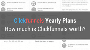 Clickfunnels Yearly Plan – How much does Clickfunnels cost?