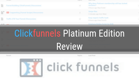 Clickfunnels Platinum Review – What's new?