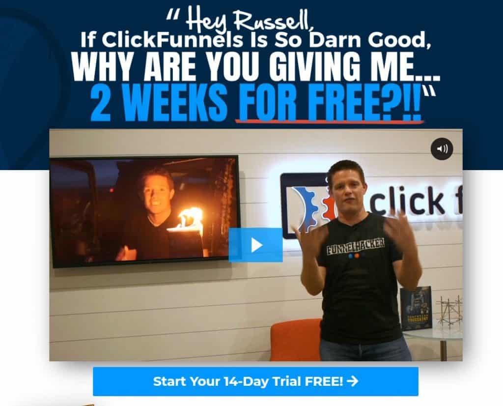 we love clickfunnels banner