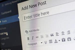 wordpress backend image