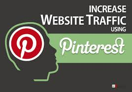 website traffic with pinterest