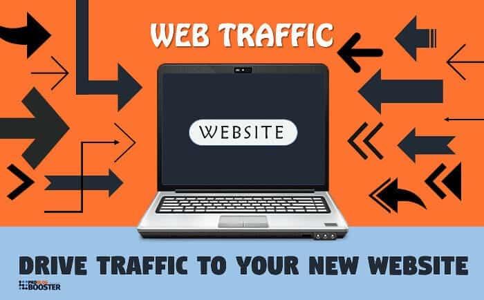 website traffic graphic