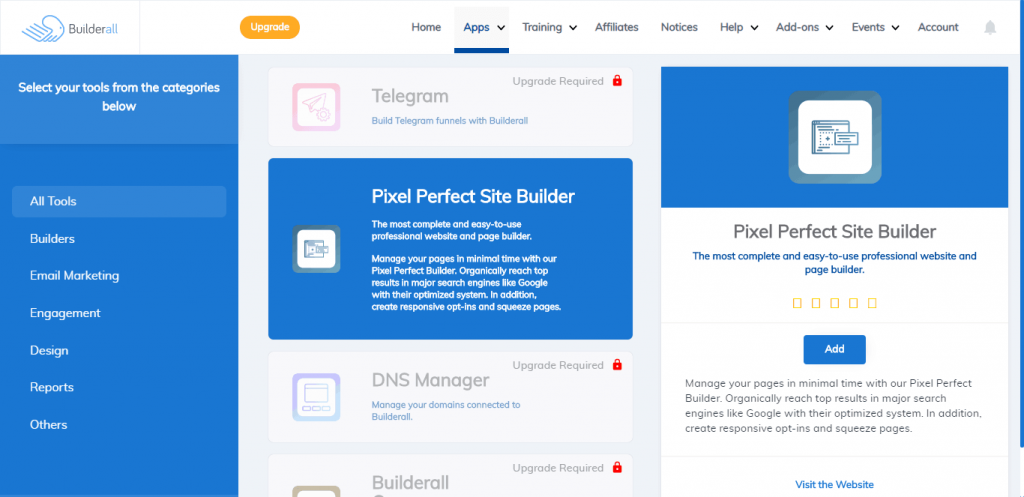 builderall apps overview