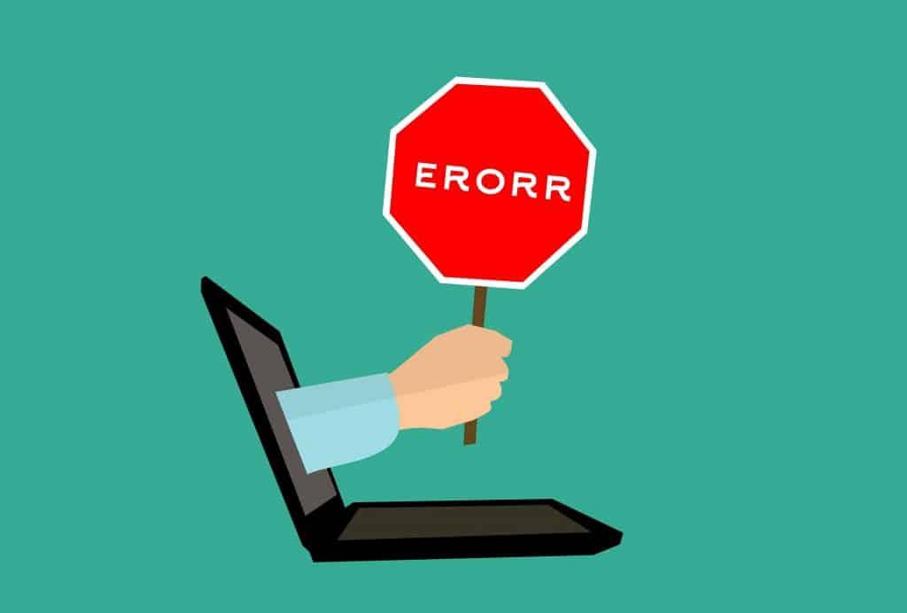 affiliate marketing mistakes laptop