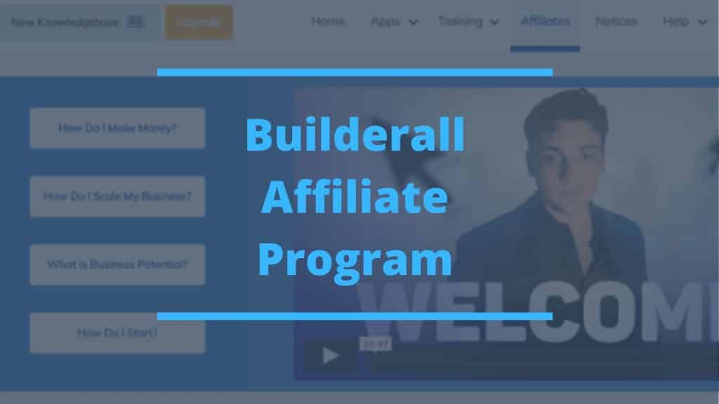 Builderall Affiliate Program featured image