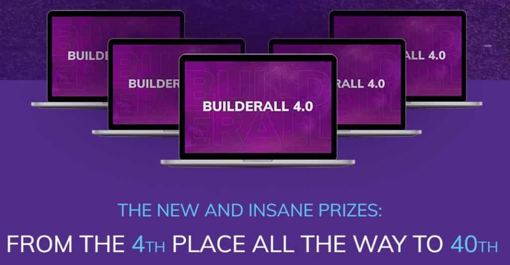 Builderall compensation plan and contest