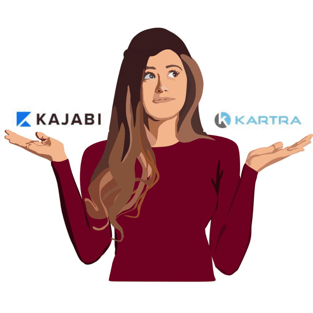 kajabi vs kartra comparison Kartra and kajabi