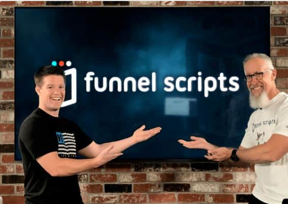 jim and russel funnel scripts presentation