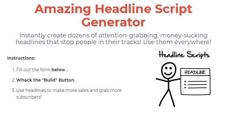 funnel scripts review headline generator snippet