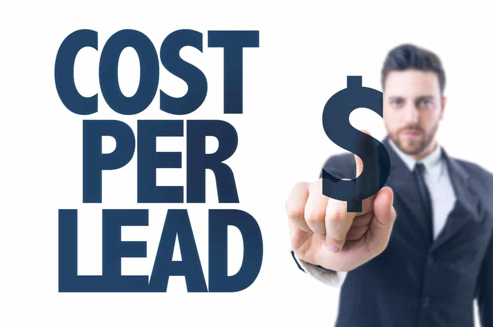 cost per lead paid advertising