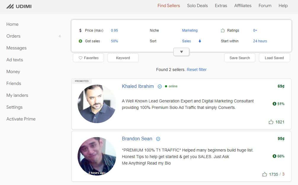 Udimi review overview of backend
