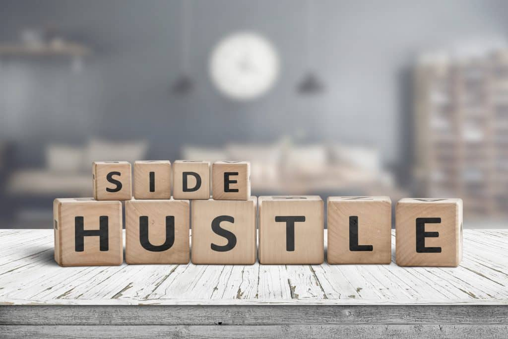 affiliate marketing side hustle