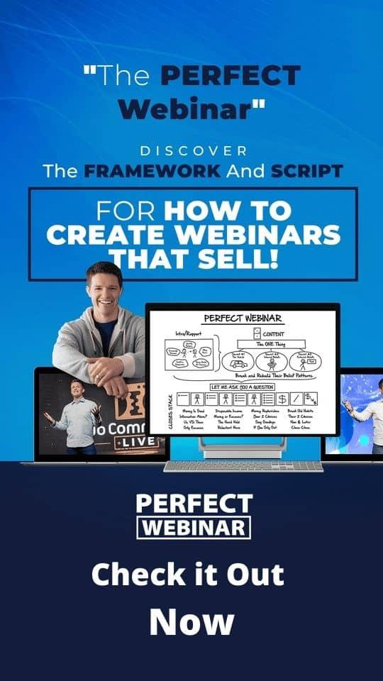 clickfunnels perfect webinar script